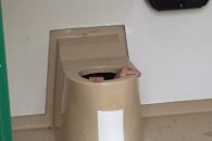 Cato-Berntsen-Larsen-is-stuck-in-a-toilet-trying-to-save-his-friends-phone