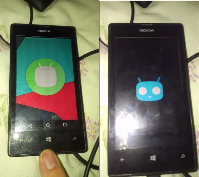 CyanogenMod Lumia 525 1