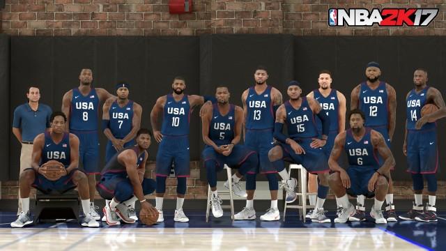 NBA 2K17 Dream Team 1