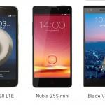 ZTE smartphones 1