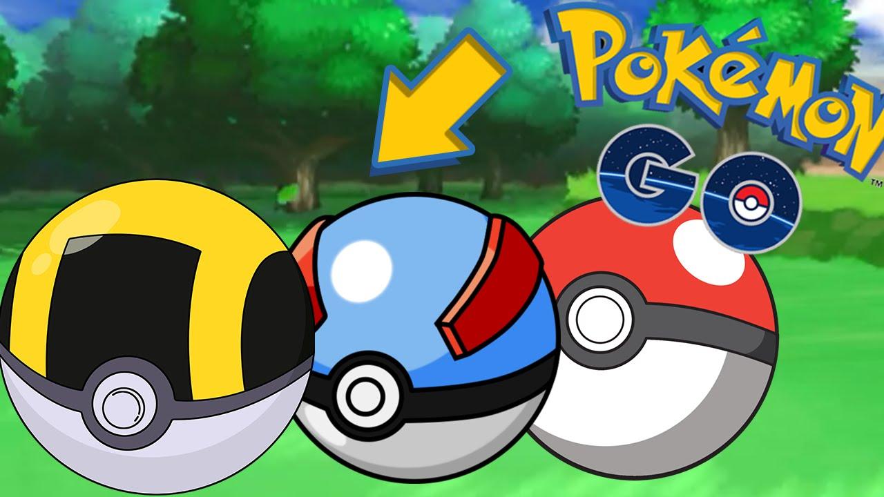 Pokemon Go Pokeball List Images