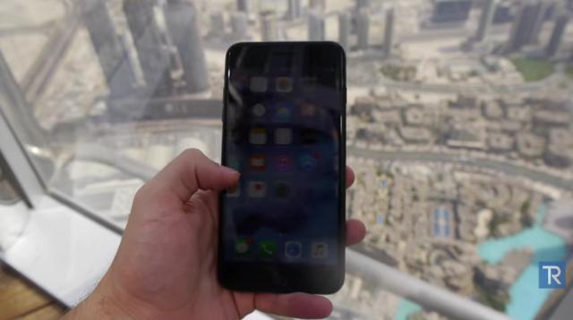 iphone 7 plus burj khalifa