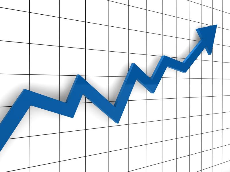 chart up arrow4 graph