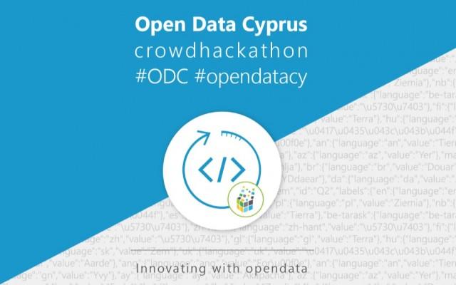 open data cyprus crowdhackathon odc opendatacy