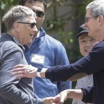 bill-gates-tim-cook