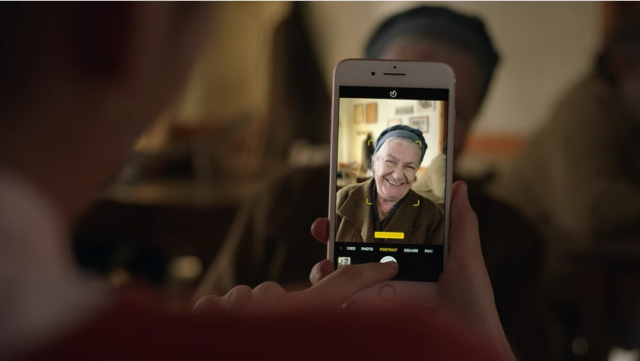 iPhone 7 Plus Portrait Mode Greek AD