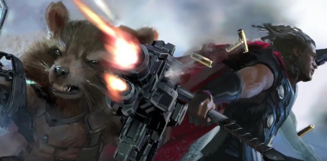 Action...Avengers- Infinity War