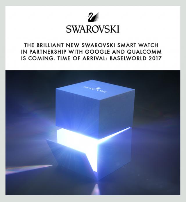 Swarovski Smart Watch