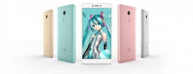 Xiaomi Redmi Note 4X Hatsune Miku Special Edition3