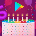 5 years google play store