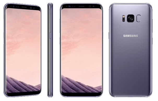 Samsung Galaxy S8 Purple