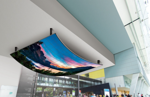 LG Video Wall 55EF5C photo 1 Flexible Curved