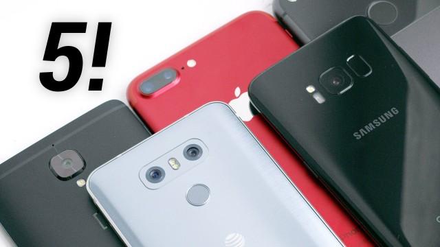 top5 camera smartphones