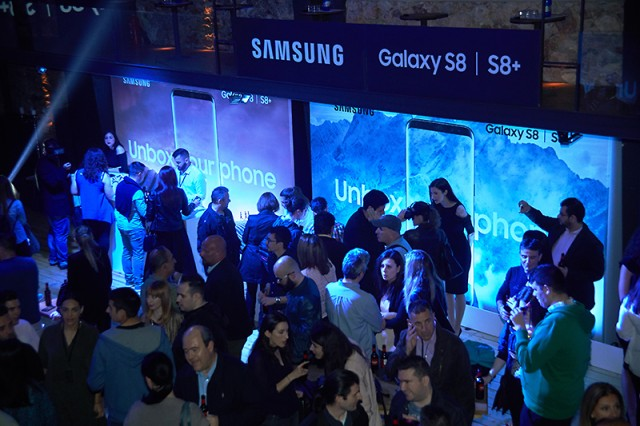 Samsung Galaxy S8 Official presentation greece (5)