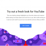 Youtube New Look