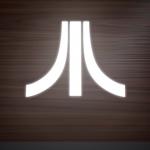 Atari console back
