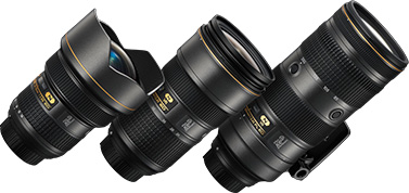 NIKKOR Triple F2.8 Zoom Lens Set 100th Anniversary Edition