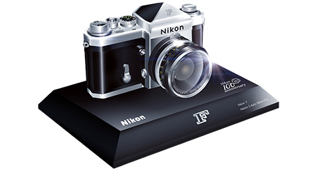 Nikon 100th Anniversary Miniature Nikon F Camera