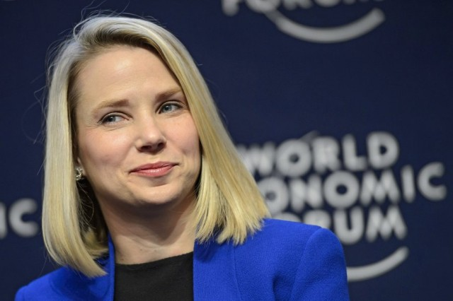 Yahoo CEO Marissa Mayer announces she is expecting twins
