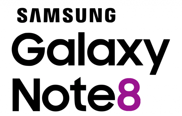samsung galaxy note 8 logo