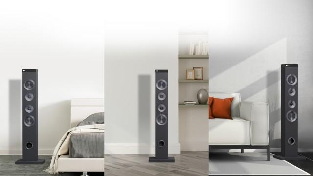 LG FJ1 Mini Hi Fi Speakers 01