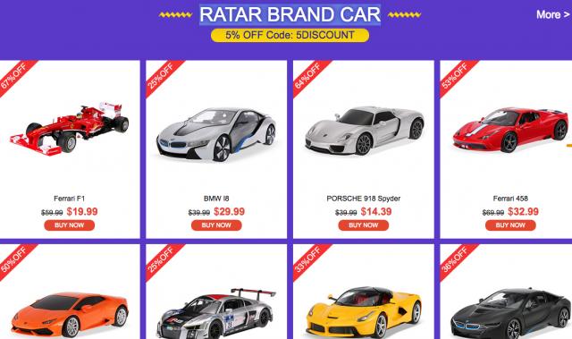 RATAR BRAND CAR