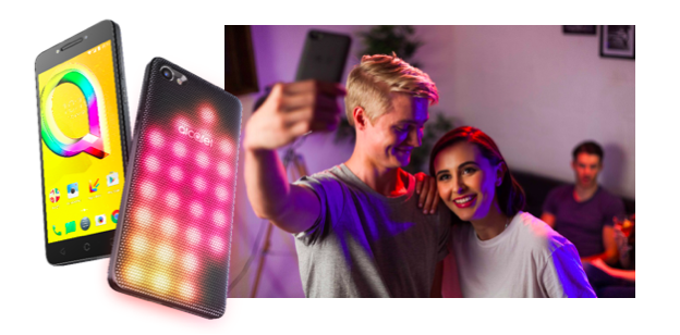 Alcatel A5 LED Selfies