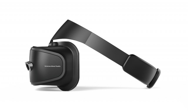 Lenovo Explorer Mixed Reality headset - Side profile