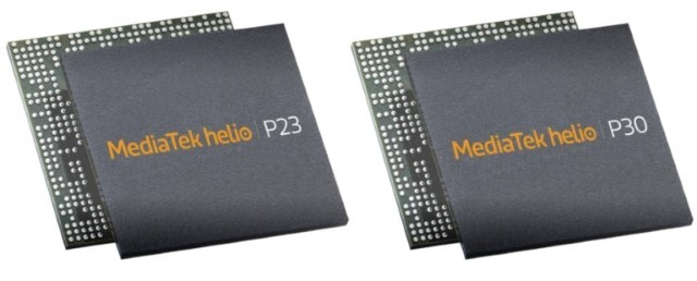 MediaTek Helio P23 kai P30