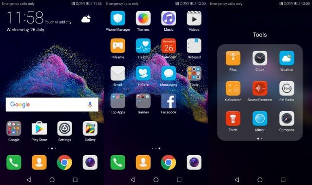 P9 Lite 2017 UI 1