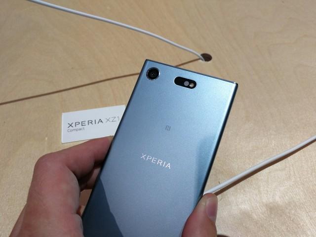 Sony Xperia XZ1 Compact IFA 2017 - 01