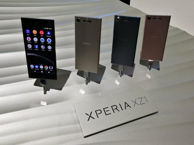Sony Xperia XZ1 IFA 2017 - 01