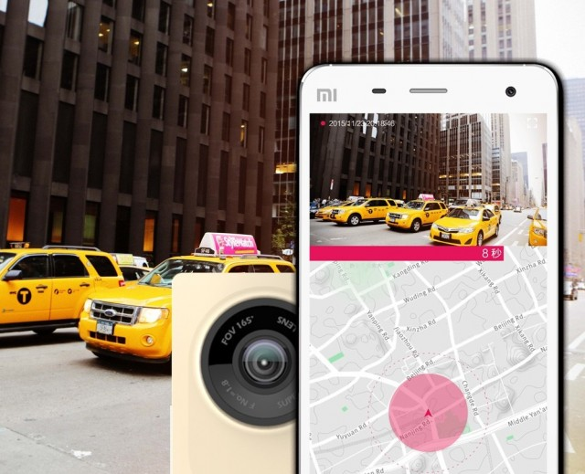 Xiaomi Xiaoyi Smart Vehicle Traveling Data Recorder Camera3