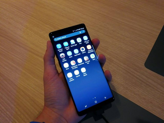 samsung galaxy note 8 - ifa 2017 - 03