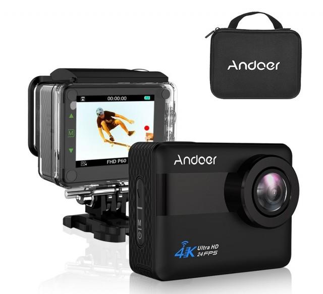 Andoer AN1 4K WiFi Sports Action Camera6