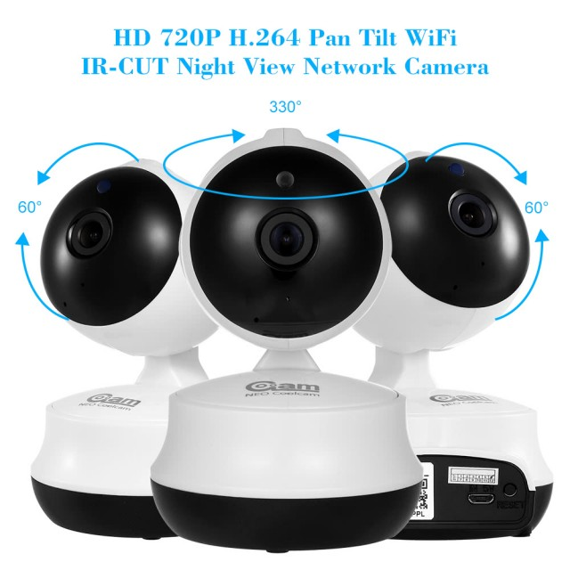 Coolcam HD 720P Wireless WiFi IP Camera Baby Monitor2