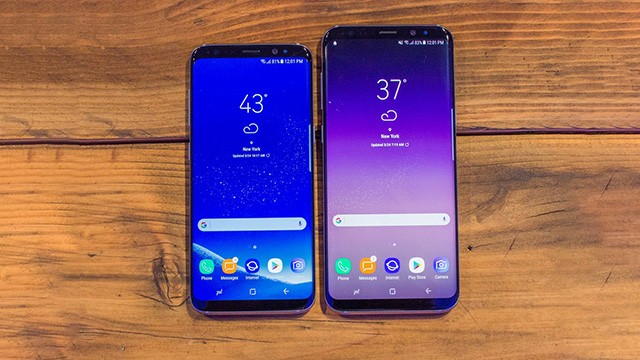 Samsung Galaxy S8 kai S8 Plus