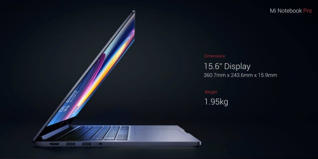 Xiaomi Mi Notebook Pro4