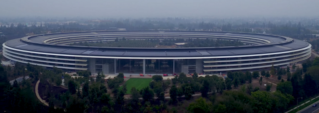 apple park spaceship