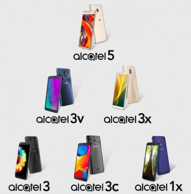 Alcatel LINEUP 2018