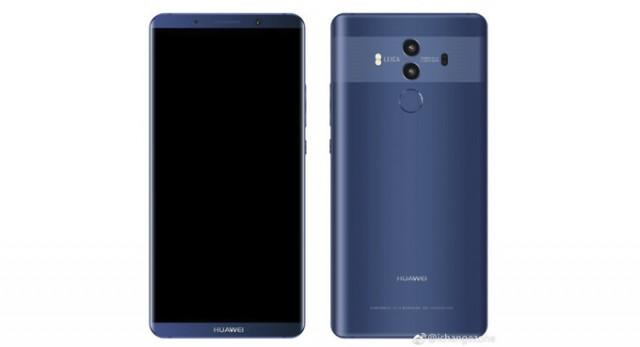 Huawei Mate 10 Pro renders2