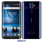 Nokia 9 in Polished Blue