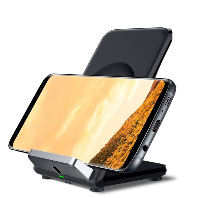Qi Wireless Fast Charging Stand Holder 2