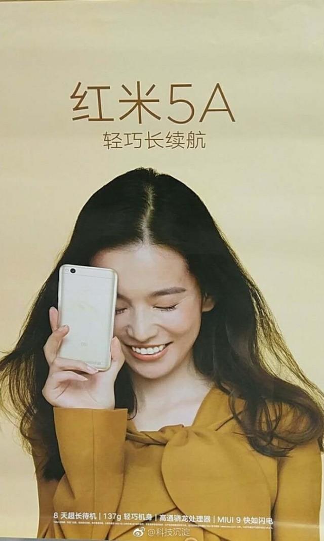 Redmi 5A poster