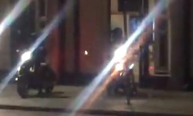 Διάρρηξη με σφυριά στο Apple Store της Regent Street στο Λονδίνο!