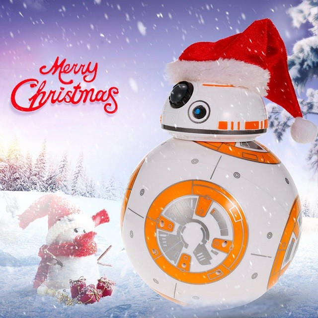 Star Wars RC Robot Ball - Christmas Version