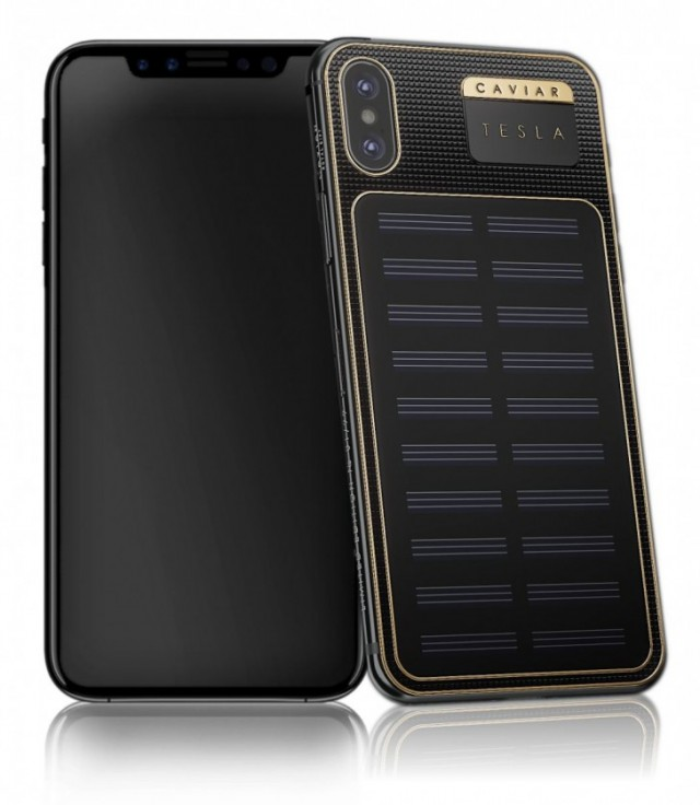 iPhone X Tesla