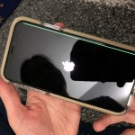 iPhone X prasines grammes