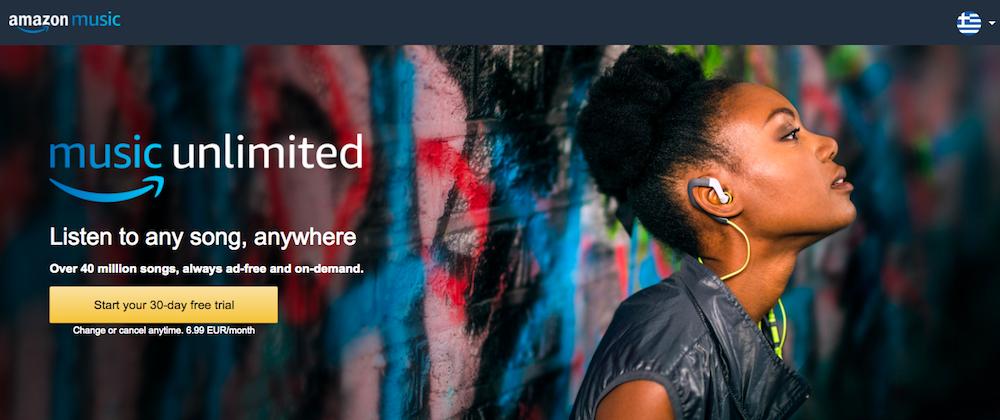 Amazon Echo Music Unlimited