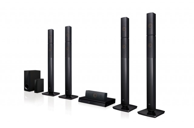 LG Home Cinema 3D Blu-ray LHB655NW